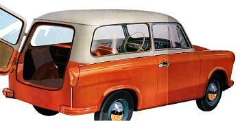 1962 trabant p50 kombi