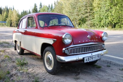 1963-1965 Moskvitch 403 front