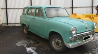 1963 Moskvich 424