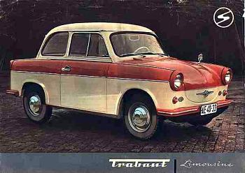 1963 trabant p50a
