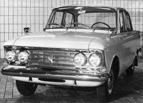 1964-1969 Москвич-408Э