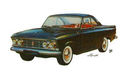 1964 AZLK Moskvich-408 GT