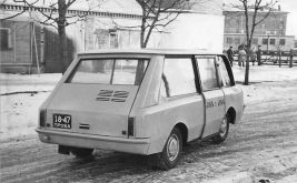 1964 Moscvich PT Taxi