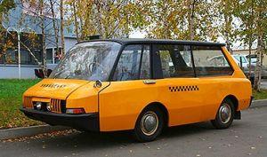 1964 MOSKVICH VNIITE-PT Taxi Concept