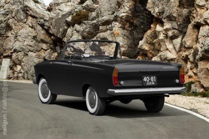 1964 Moskvitch 408 tourist cabriolet d
