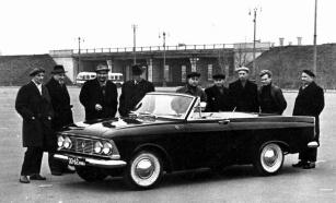 1964 Moskvitch 408 tourist cabriolet e