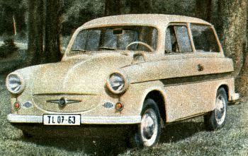 1964 trabant 600 kombi