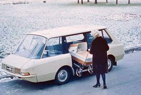 1964 VNIITE-PT Taxi Concept
