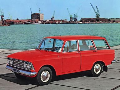 1965 Moskvich 426 - Elite Scaldia 1400L. Wagon version of the 408