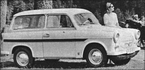 1965 trabant 600 kombi