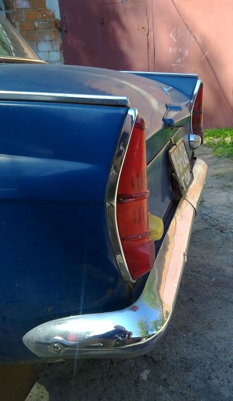 1966 Moskvitch-408 tailights