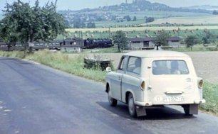1967 Трабант на дорогах ГДР