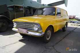 1969 Moskvitch 433 1.4 Manual, 50ps