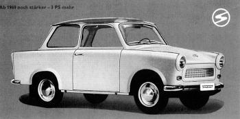 1969 trabant 601