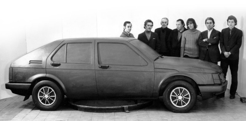 1976 Moskvich C2, C3, C4 - Delta