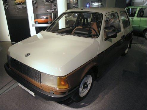 1981 Prototype Trabant P601Z