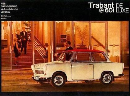 1984 Trabant 601 de luxe ad