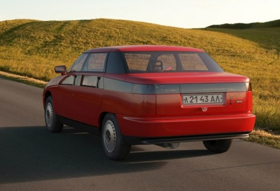 1991 Moskvich Concept - 2143 Yauza from Russia f 1.4lt