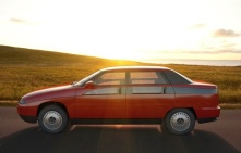1991 Moskvich Concept - 2143 Yauza from Russia h