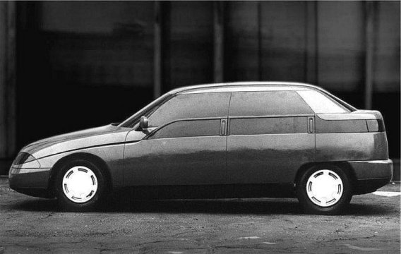 1991 Moskvich Concept - 2143 Yauza from Russia j
