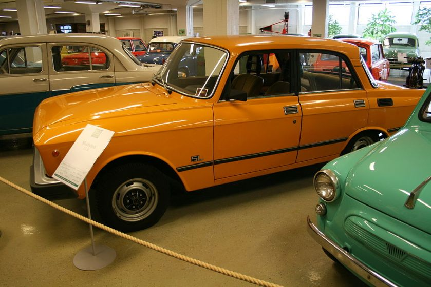 Moskvich 1.5 SL at the Car and Communication Museum in Finland