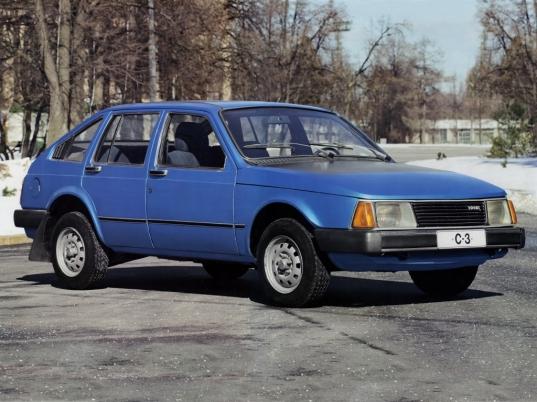 Moskvitch AZLK C3 prototype