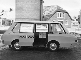 moskvitch PT taxi vniite-pt 4 - ВНИИТЭ-ПТ '1964