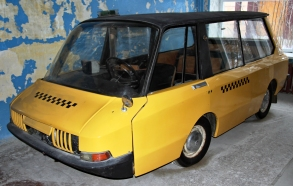 Moskvitch VNIITE-PT taxi prototype of the Soviet Union