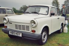 Trabant 1.1 Limousine with VW Polo four-stroke engine