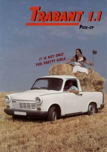 Trabant 1.1 Pick-up - Trabant 601 a ČZ175-470