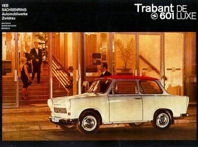 Trabant 601 de luxe Ad