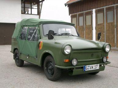 Trabant 601 Kübel geslossen