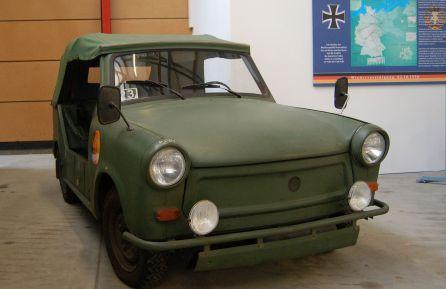 Trabant 601 Kübel, unter anderem in der NVA verwendet