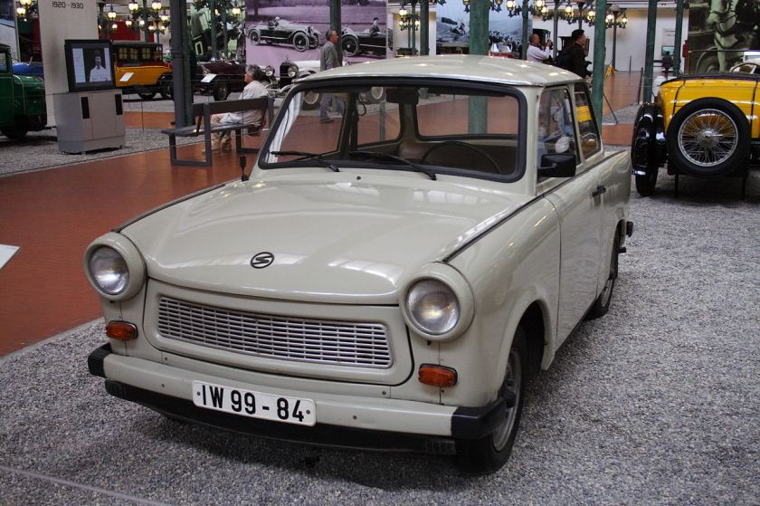 Trabant 601 Mulhouse FRA 001