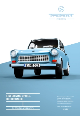 trabant 601 pure driving outdoor print 377369