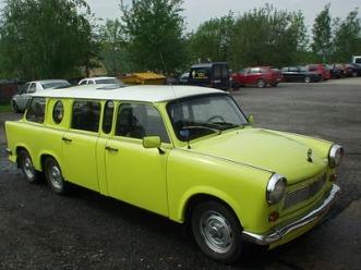 Trabant Limousine front corner 1