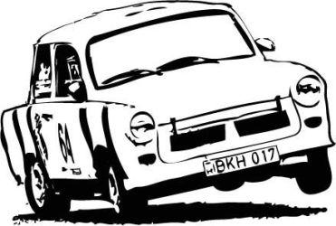 trabant motor sport logo by beniboyhun