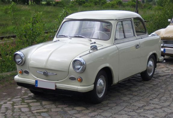 Trabant P50 front