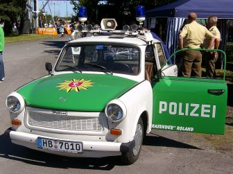 Trabant Polizeiversion