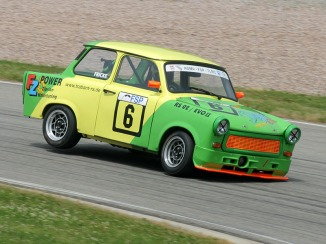 Trabant RS02, driven by Martin Fricke on Sachsenring Circuit