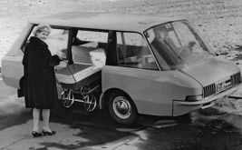 VNIITE-PT, a concept taxi of the USSR Research Institute of Industrial Design, 1964